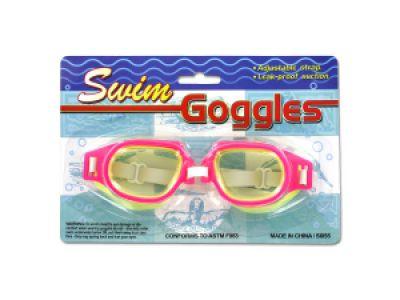 Leak-Proof Adjustable Swim Goggles, 48