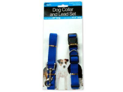 Dog Collar & Lead Set, 32