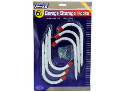 Garage Storage Hooks, 8