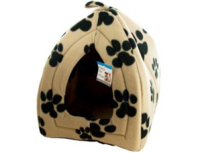 Cozy Fleece Indoor Pet House, 1