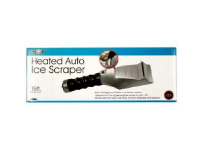 Heated Auto Ice Scraper with Flashlight, 1