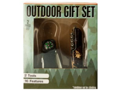 Outdoor Multi-Function Tool Gift Set, 2