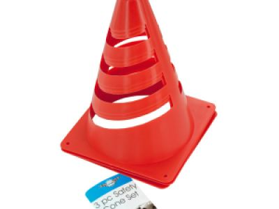Mini Safety Cone Set, 12