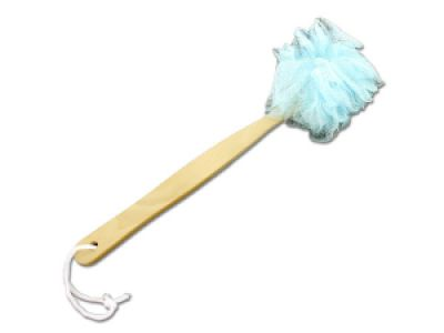 Exfoliating Body Scrubber with Wooden Handle, 144