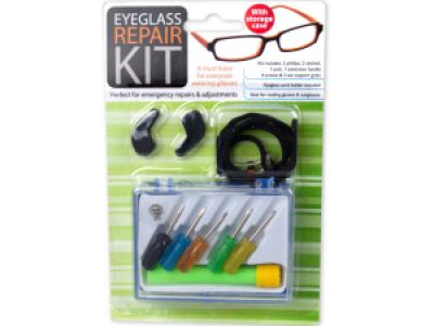 Eyeglass Repair Kit with Case, 144