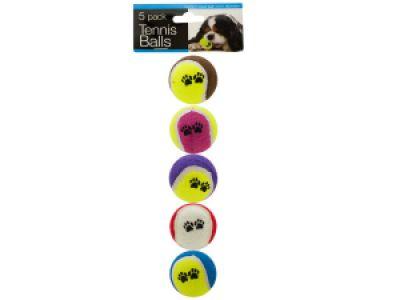 Medium Size Dog Tennis Balls Set, 12