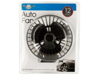 12 Volt Auto Fan with Suction Cup, 1
