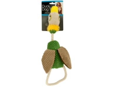 Fabric Duck Dog Toy, 8