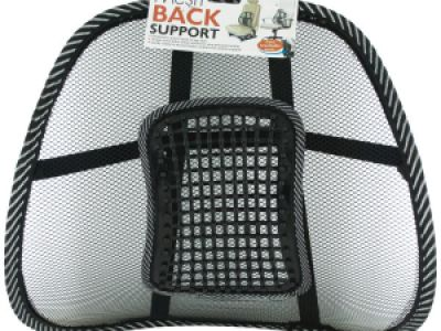 Mesh Back Support with Massage Pegs, 24