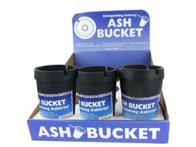 Extinguishing Ashtray Ash Bucket Counter Top Display, 12