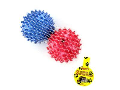 Rubber Spike Dog Balls, 96