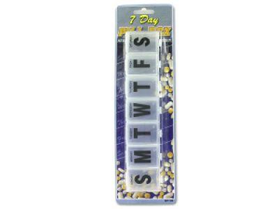 7-Day Jumbo Pill Box, 72