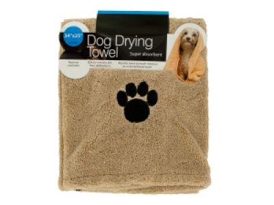 Medium Super Absorbent Dog Drying Towel, 12